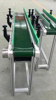 Aluminum belt conveyor/Light duty belt conveyor/Flat belt conveyor