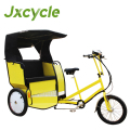 Pedicab, velotaxi, rickshaw. With or without pedal assist up to 250w