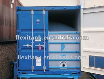 Flexibag in shipping container