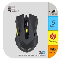 Computer Mouse FTM-T527 Promotion Mouse G5 Wireless Thin Mouse