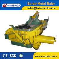 Y83-125 Hand valve easy operation hydraulic small baler baling press for scrap metal