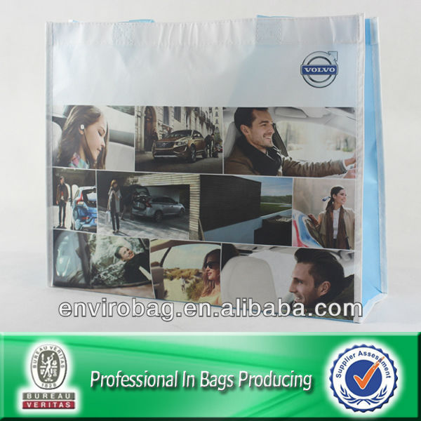 100% Recycled Material Laminated Non-woven Shopping Bag