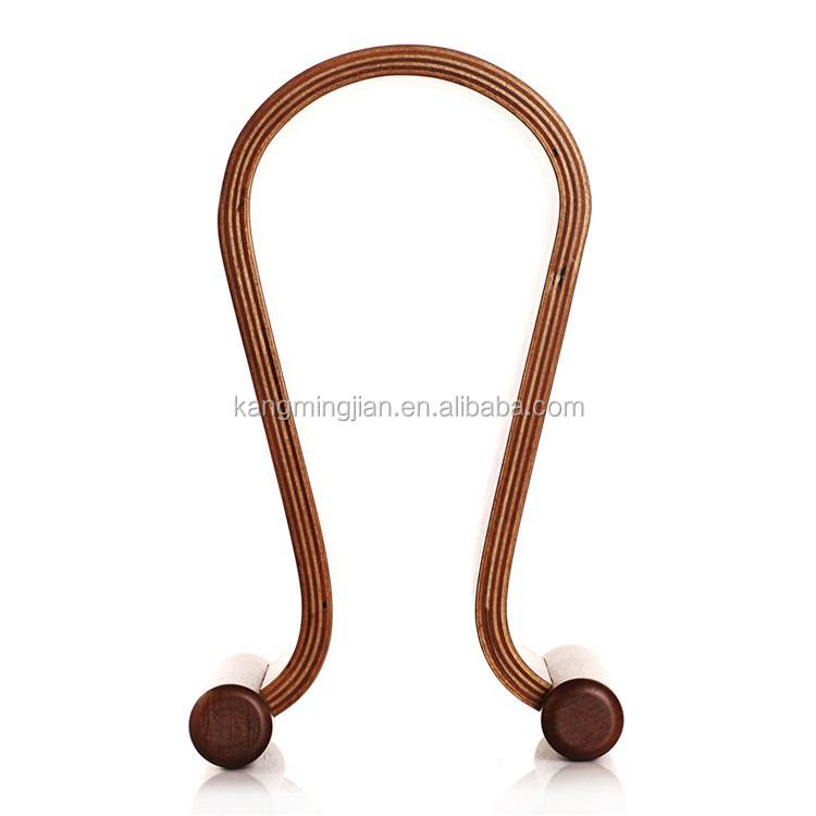 for headphone wooden stand holder, luxury walnut and birch available
