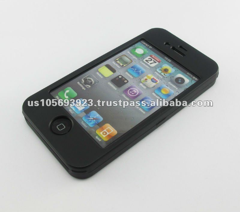 cell phone case for iphone4G/4S snap on front face
