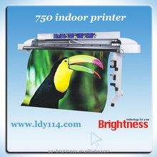 Hot sale novajet 750 digital flex banner printing machine