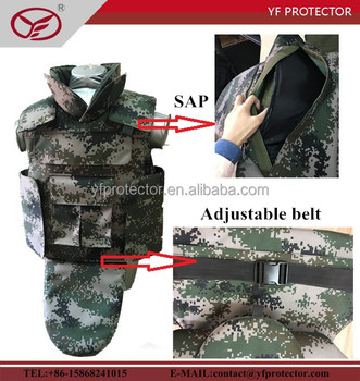army camouflage bulletproof wastcoat/anti ballistic jacket
