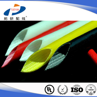Class H silicone fiberglass tube with UL certification