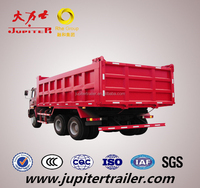 HOWO 8*4 Dumper/Tipper Truck with U shpae body