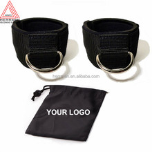 (HERRMAN) Ankle Strap for Cable Machine Workouts for Resistance Bands