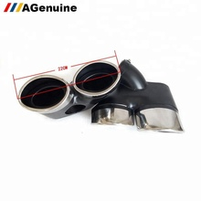 304 stainless steel silencer tips exhaust end pipes muffler for Mercedes-Benz E class W211
