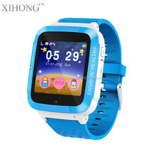 Alibaba best selling branded digital sport wrist smart watch phone for kids