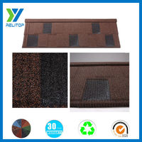 Stone Coated Metal Shingle Galvanized Roofing Sheet/Villa Roofing Sheet