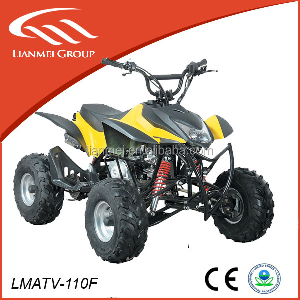 Full automatic 110cc buggy quad bike by electric starter