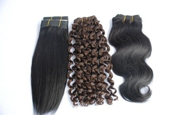 wholesale price single drawn unprocessed virgin remy human hair for black women