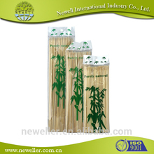 2014 Wholesale natural customed bamboo flower stick bamboo sticks decorative floral sticks
