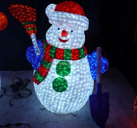 LED Christmas outdoor waterproof acrylic large snowman decorations