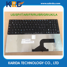 Wholesale Italian IT Keyboard for Asus K52 K53 N53 X52 A52 K52N X72 N61 N60 X53 laptop keyboard
