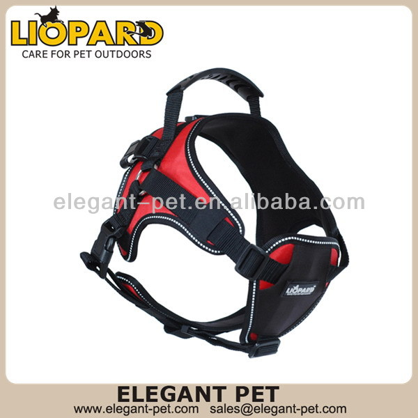 New discount dog harness backpack with leash