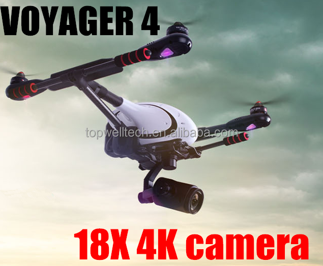 Voyager 4 PK DJI typhoon Professional Aerial Filming FPV Quadcopter RC 18X4K camera rc gas helicopter