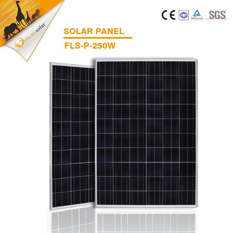 guangzhou felicity 2015 Newest Hot Sale High Efficiency mono or poly Solar Panels