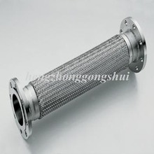 Supply ss304 flange flexible stainless steel corrugated metal hose