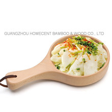 High Quality 100% Wood Bowl Salad Bowl with Handle
