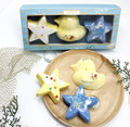 Promotional gift for star-shaped fizzer bath bomb kit