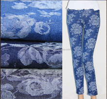 frivolous dress order jacquard fabric in den girls sexy tight jeans selvedge denim wholesale fabric