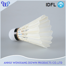 A level Top Quality Super Duck Feather Shuttlecock Badminton Outdoor Brand