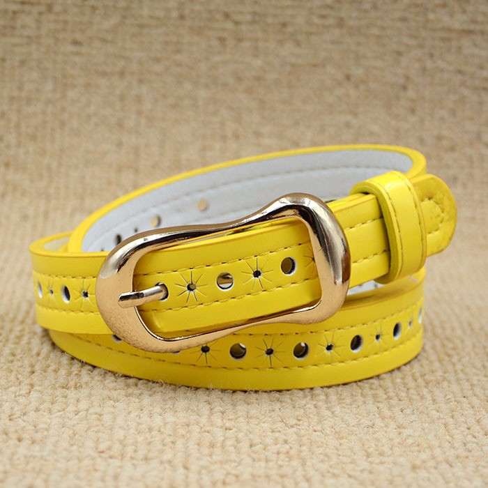 Original Design Style cool hot popular leather automatic leather belt with flower decorated custom design belt plain BK-YD1250