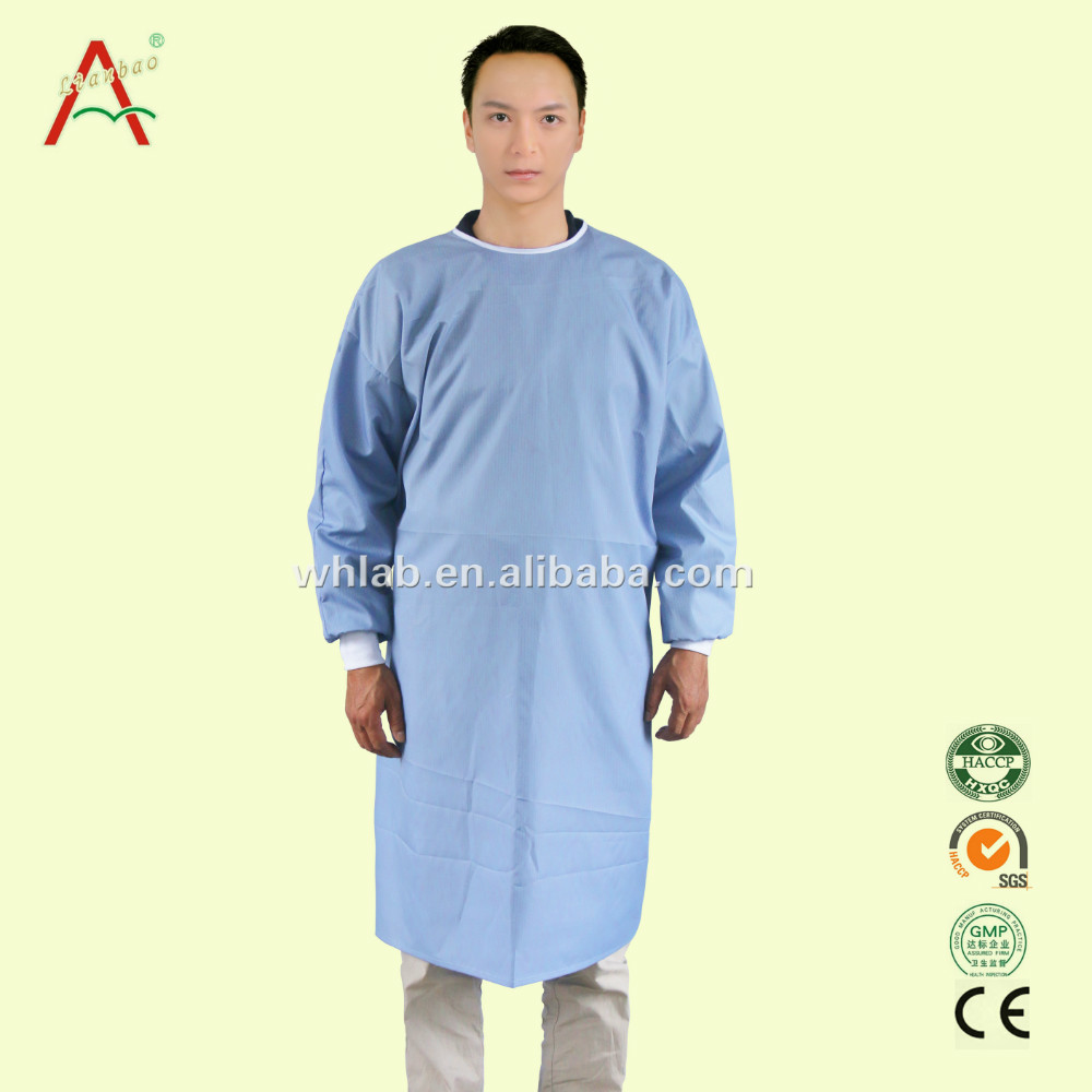 Medical Sterile clothing doctors with knitted elastic cuffs operating isolation gowns Surgical Gowns
