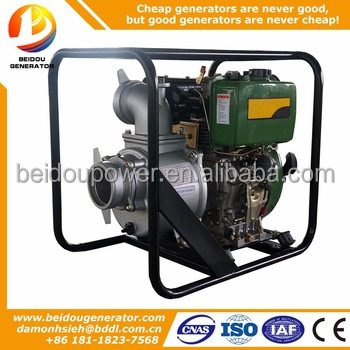 4 inch belt driven centrifugal water pump