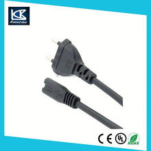 China gold cable supplier of euro extended power cord
