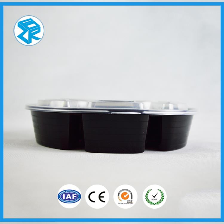 new premium long plastic bento tray microwave pp fast food container commercial lunch containers