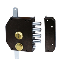 DA HUA HIGH SECURITY CYLINDER RIM LOCK 7085 FOR DOOR