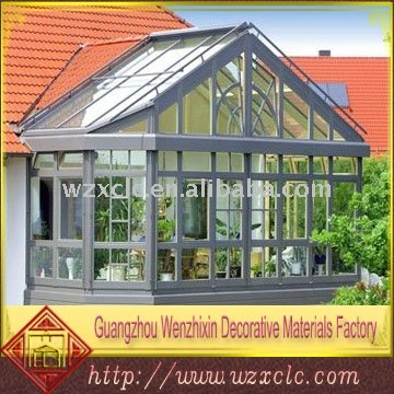 Aluminum winter garden outdoor glass sun room