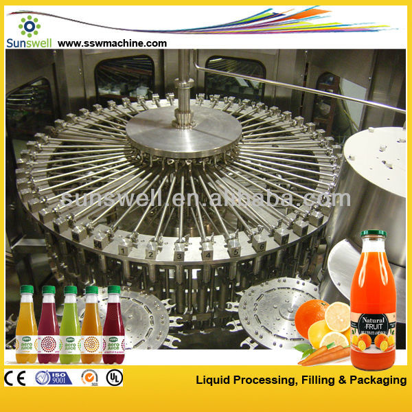 flavoured water filling machine production line
