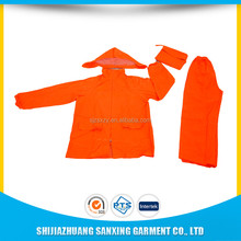 Adult fashion motorcycle raincoat