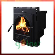 22kw insert cast iron stove/high output heater/wood burning stove