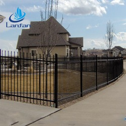 Direct Factory Low Price Powder Coated Steel Fencing for Garden