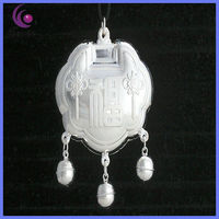 2013 CHINESE HANDMADE HAMMERED SILVER CROSS PENDANTS MADE OF S990 SILVER HOT ON SALE &Y00023D