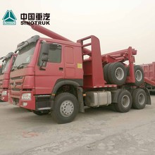 Sinotruk HOWO 6x4 10 wheeler wood log transport truck