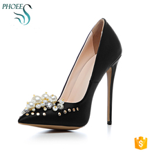 Phoees Hot Fashion Classical Beautiful Women Dress Shoes Ladies Pointed Toe Luxury Pumps