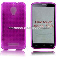 made in china colorful soft tpu phone case for alcatel one touch fierce 7024w