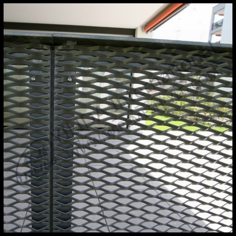 expanded metal mesh for curtain wall