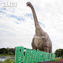FRP Dinosaur model statue for outdoor