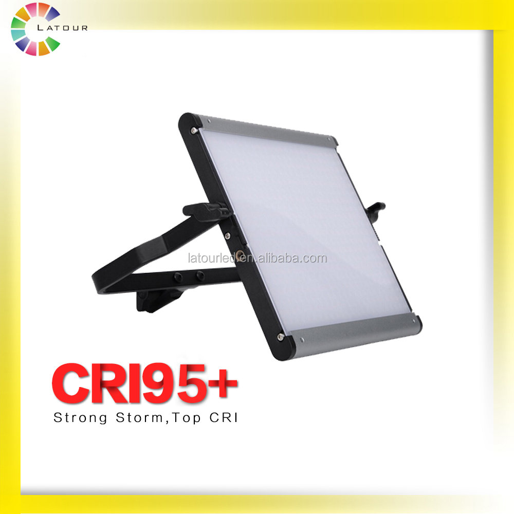 Hot sale film shooting light studio CRI 95 lighting led bulb panel lights JYLED-500 single color