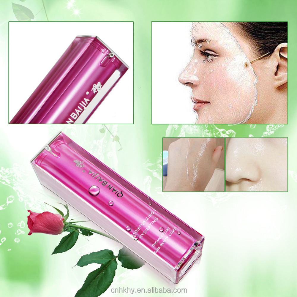 Cosmetic wholesale Qianbaijia organic plant rose beauty liquid wholesale rose water