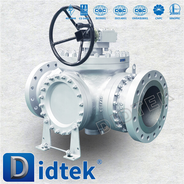 Industrial Durable gear operated type ball valve