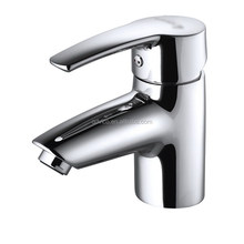 Brass Body Single Handle Water Wash Basin Faucet Mixer Tap